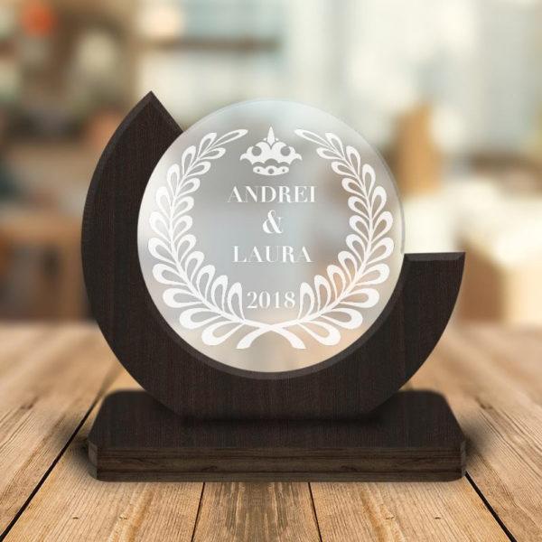 Cadou personalizat Trofeu - Aniversare cuplu