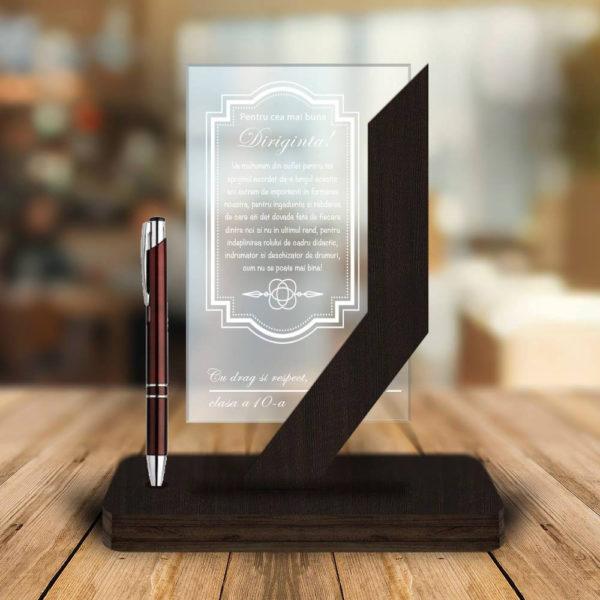 Cadou personalizat Trofeu - Pentru cea mai buna Diriginta!