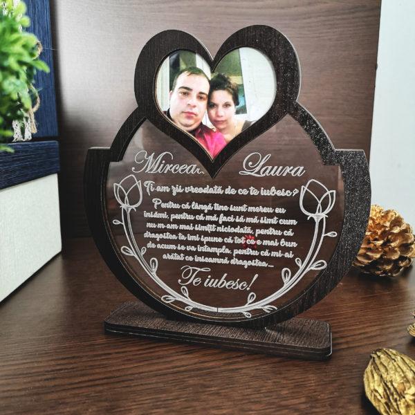Cadou personalizat Trofeu - Declaratie iubire