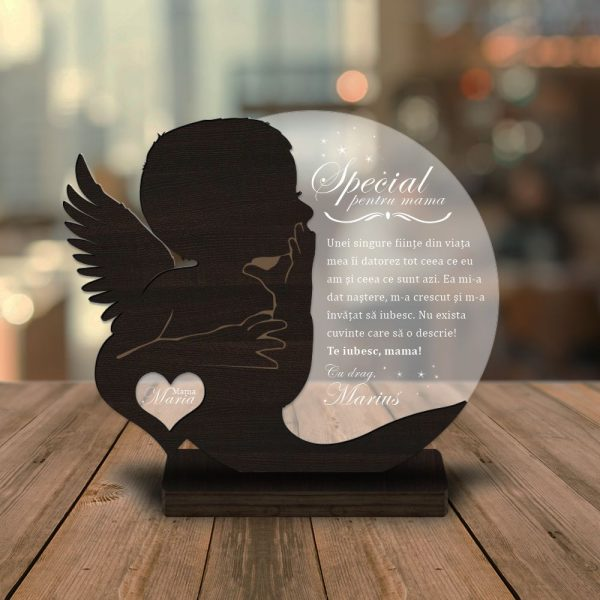 Cadou personalizat Trofeu - Soapte de copil