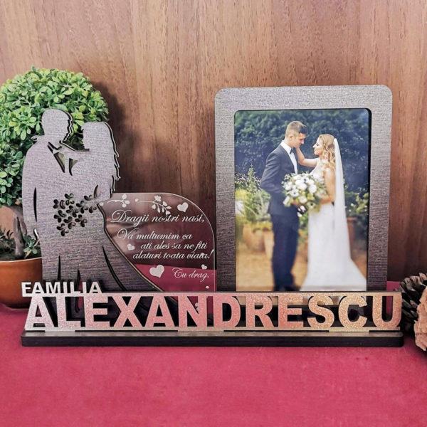 Rama foto personalizata - Cadou de nunta