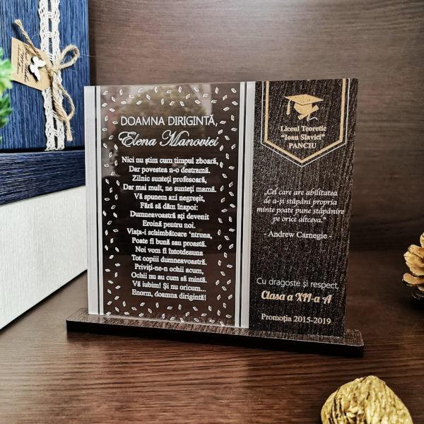 Cadou diriginta - Cadou personalizat trofeu