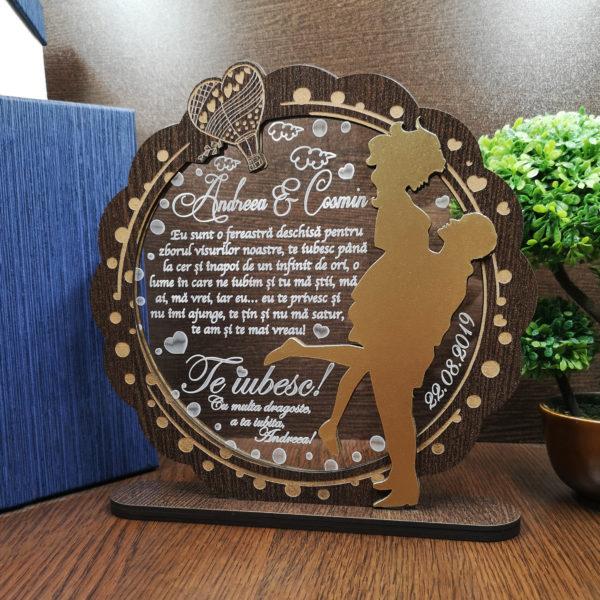 Cadou personalizat Trofeu pentru persoana iubita