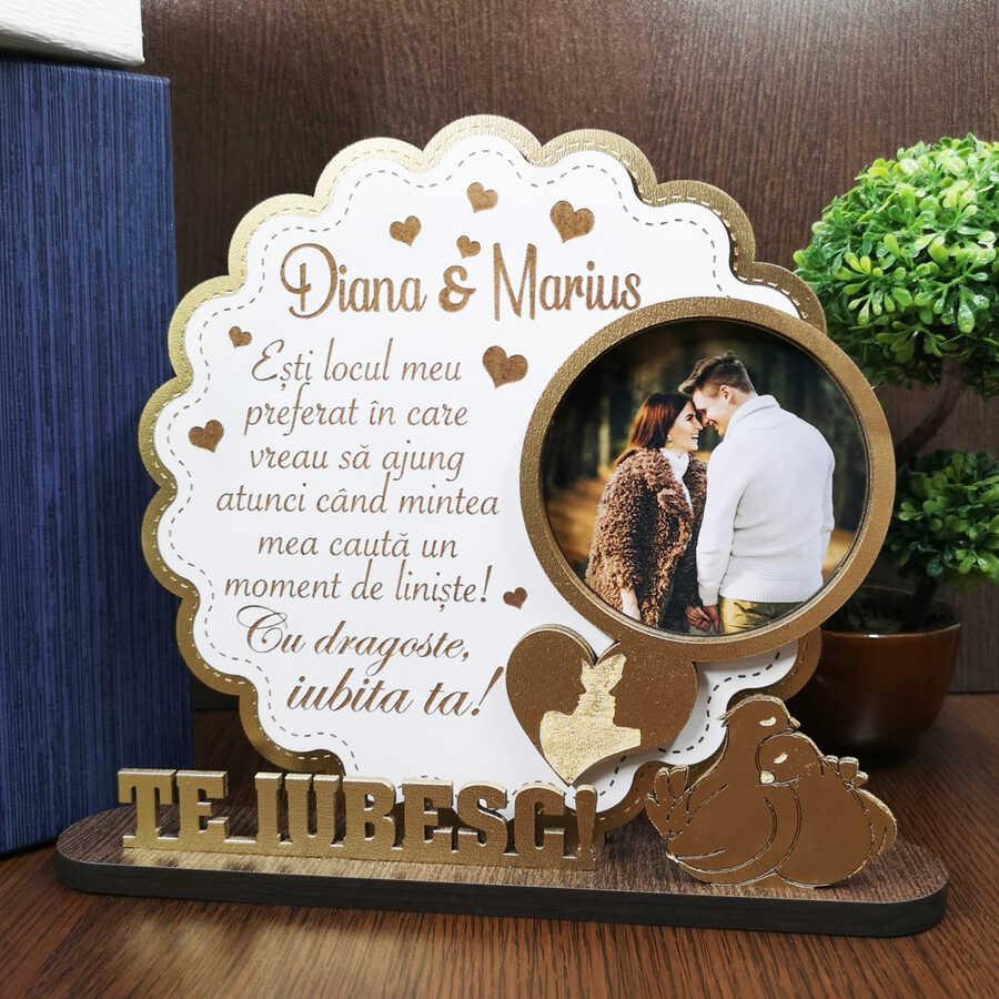 Cadou personalizat - Trofeu pentru ziua indragostitilor